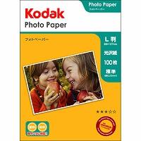 Kodak フォトペーパー 180g L判 100枚 KPE-100L Kenko ケンコー
