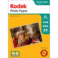 Kodak フォトペーパー 180g 2L判 25枚 KPE-252L Kenko ケンコー
