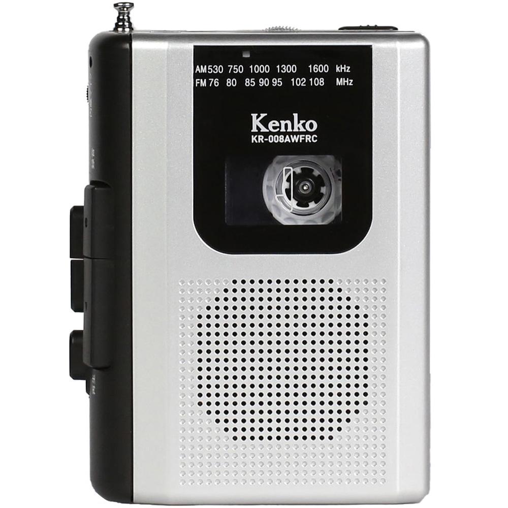AM/FM ラジオカセットレコーダー ラジオカセットテープ ラジオ 音声 録音 KR-008AWFRC ラジカセ ラジオカセットプレーヤー 防災
