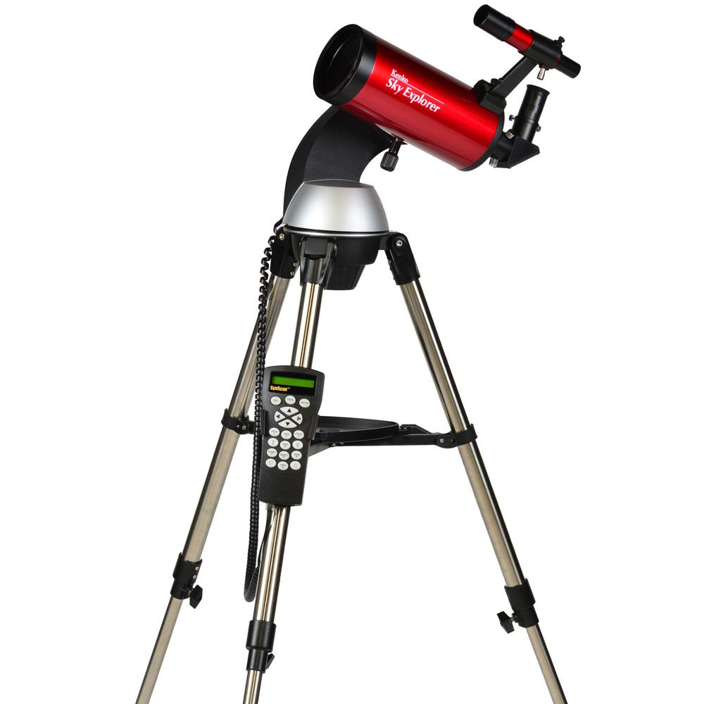 天体望遠鏡 ケンコー Sky Explorer スカイエクスプローラー SE-GT102M II マクストフカセグレン式 初心者 小学生 子供 自動追尾 経緯台式 自動追尾