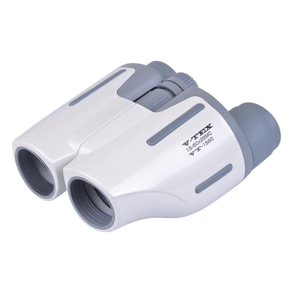 双眼鏡 コンサート おすすめ ドーム ライブ 15〜60倍 ズーム V-TEX15-60×28MC VT-1560 10倍 30倍 28mm 高倍率 オペラグラス kenko ケンコー