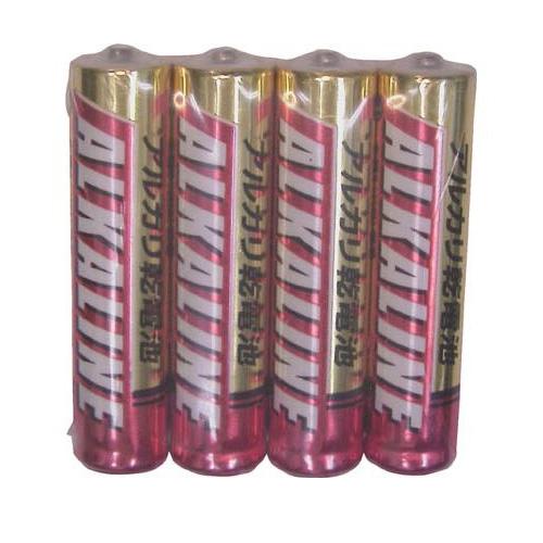 三菱 アルカリ乾電池 アルカリ電池 乾電池 単4 LR03R/4S