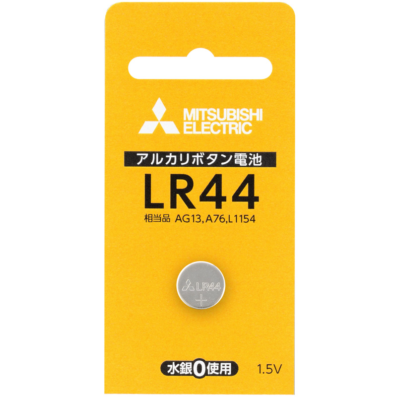 アルカリボタン電池 アルカリ電池 ボタン電池 LR44D/1BP