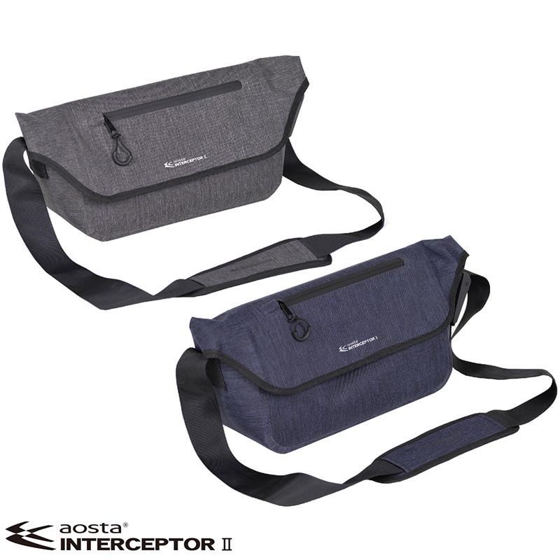 カメラバッグ アオスタ インターセプターII メッセンジャーバッグS AOC-SEP2MES 一眼レフ 交換レンズ ミラーレス おすすめ 人気 おしゃれ シンプル カメラ女子 メンズ 生活防水