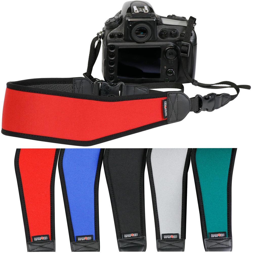ネオプレーンストラップ カーブタイプ ST-MW01 カメラストラップ [MAMORU] 一眼レフ ミラーレス ショルダー 肩 おしゃれ おすすめ