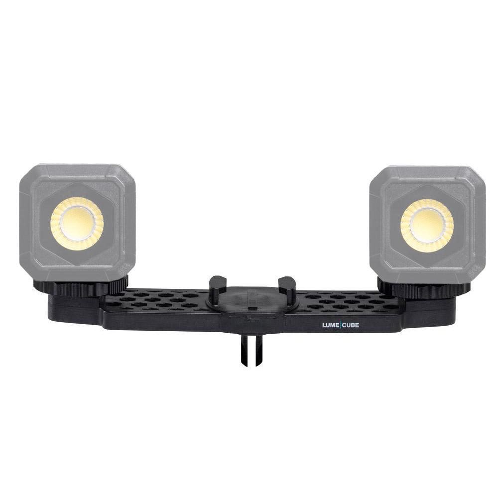 ゴープロマウントアーム ゴープロアクセサリー LUME CUBE用 マウント LEDライト スマホ 照明 カメラアクセサリー シュー
