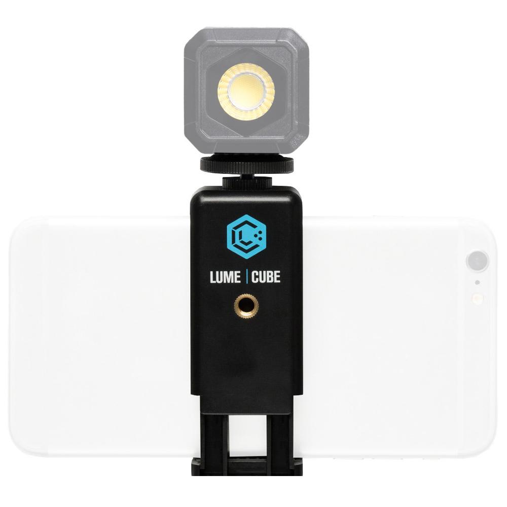スマートフォンクリップ LUME CUBE用 LEDライト スマホ 照明 スマホアクセサリー