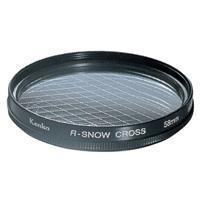カメラ用 レンズ フィルター 49S R-スノークロス クロスフィルター KENKO ケンコー