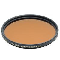 カメラ用 色温度変換・色補正 フィルター 温調 49S W12 プロフェッショナル Kenko ケンコー