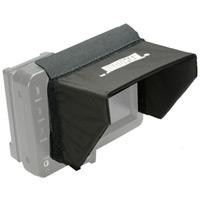 HOODMAN LCD モニター用フード カムコーダーフード5インチ用HV5 KENKO フード 液晶モニター部に装着して外光をカット