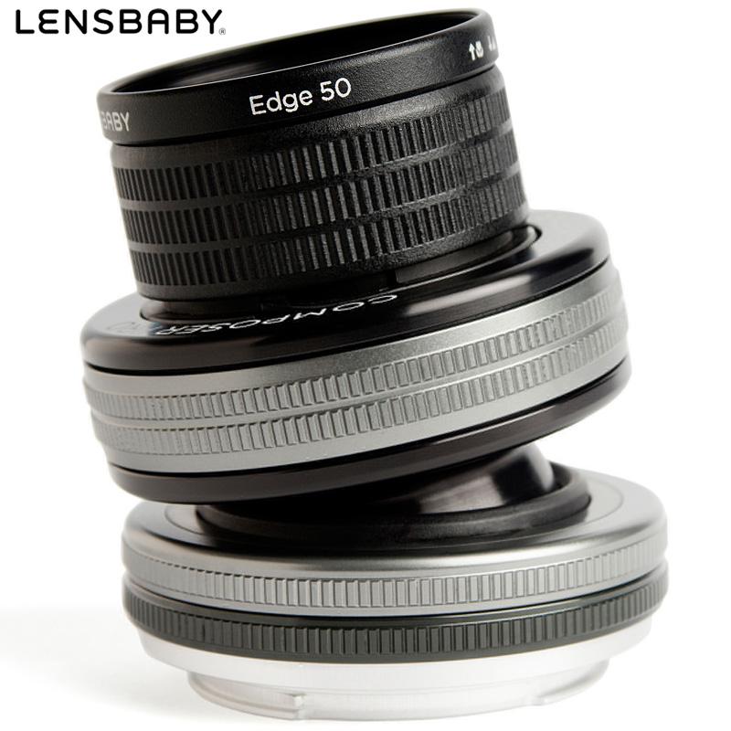 レンズベビー コンポーザープロ2 エッジ50 ケンコー KENKO 単焦点レンズ カメラ 一眼レフ 交換レンズ ポートレート
