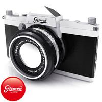GIZMON iCA5 SLR iPhone5/5S/SE用ケース GIZMON iPhone5 iPhone5S iPnoneSE対応 スマホ ケース カバー カメラ型 ギズモン