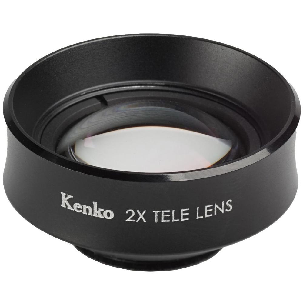 SNSマスターテレ2X [2倍望遠レンズ] スマートフォン用コンバージョンレンズ ケンコー スマホ スマホ用カメラレンズ スマホ用レンズ 自撮り kenko 望遠 おすすめ