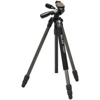 スリック 三脚 ライトカ-ボン E73 SLIK 一眼レフ ミラーレス ビデオカメラ コンパクト 雲台 カーボン三脚