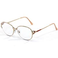 老眼鏡 [シニアグラス] 度数4.5〜6.0 七宝 デザイン 強度