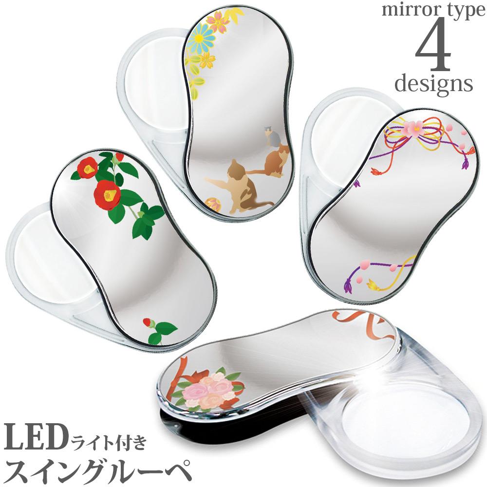 LEDスウィングルーペ鏡面 SRM 共栄プラスチック