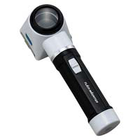 虫眼鏡 拡大鏡 フラッシュルーペ M-170 7倍 30mm ライト付 池田レンズ