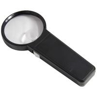 ルーペ ライト付 ライトルーペ 2倍&5倍 75mm イルマックス 携帯 手持ち おしゃれ 虫眼鏡 拡大鏡 老眼 アウトレット 池田レンズ