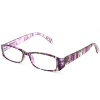 リーディンググラス [老眼鏡] [シニアグラス] 専用ケース付き RP399 マルチパープル カラフル