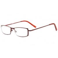 リーディンググラス [老眼鏡] [シニアグラス] 専用ケース付き R7325 ワインレッド おしゃれ