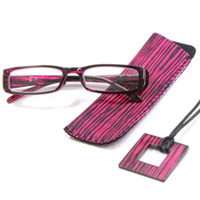 老眼鏡 シニアグラス SG-03R D rp513 レッド 眼鏡ケース メガネホルダー付き リーディンググラス