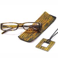 老眼鏡 シニアグラス SG-03YL rp513 イエロー 眼鏡ケース メガネホルダー付き リーディンググラス