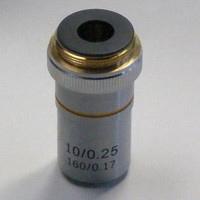 対物レンズ 10X ミザールテック 対物レンズ 顕微鏡 観察 拡大 実験