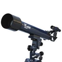 天体望遠鏡 屈折式 子供 初心者 TL-606 30倍-150倍 ビギナーにも安心な新設設計 左右微動装置付き ミザール