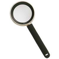 ニコン ルーペ 20D 5倍 [6倍] 48mm ハイグレード 読書用 虫眼鏡 拡大鏡 おしゃれ 弱視 携帯 携帯用ケース付き 手持ちルーペ