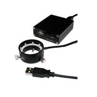 エヌエスライティング USB LED照明 コントローラーセット φ32リングUSB LED照明セット LED 8灯 LRF-40/32W-USB501SET