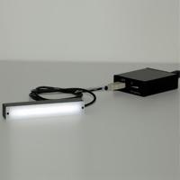 エヌエスライティング USB LED照明 コントローラーセット ライン型バー USB LED照明セット NS-BC501-NBR-100S