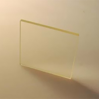 HOYA製 光学フィルター シャープカットフィルター 無色 L-38 50X50 t=2.5 光学ガラスフィルター [エヌエスライティング]
