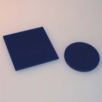 HOYA製 光学フィルター 青フィルター B-370 50X50 t=2.5 光学ガラスフィルター [エヌエスライティング]