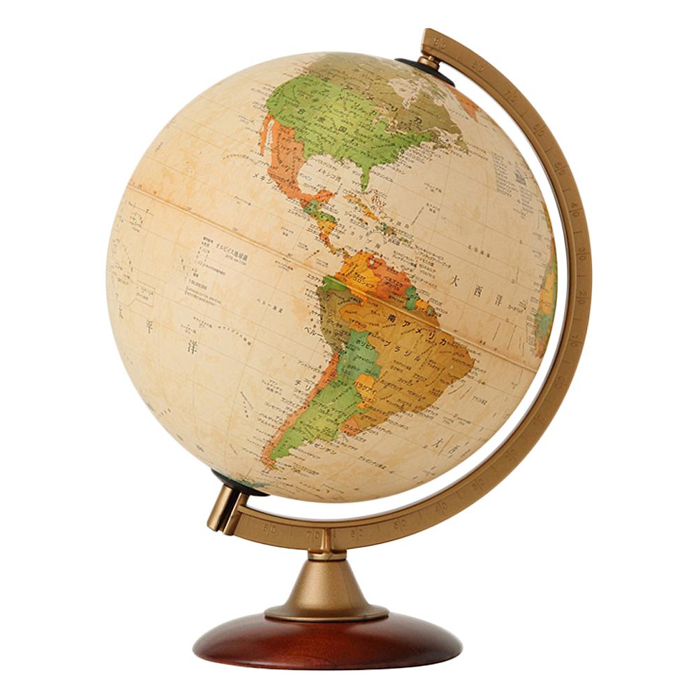 地球儀 インテリア アンティーク 子供用 学習 行政図 25cm 【ラッピング無料】 イタリア製