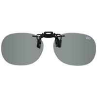 偏光サングラス クリップサングラス BV-26 偏光ライトグレー エロイコ 偏光グラス ゴルフ UV カット 跳ね上げ メガネの上からサングラス
