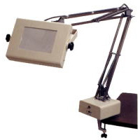 照明拡大鏡 フリーアーム式 OSL-4 [4倍] オーツカ光学 拡大鏡 照明拡大鏡 ルーペ 検査