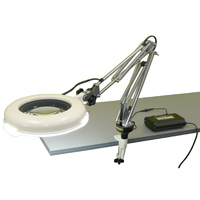 LED照明拡大鏡 調光なし LSKs-CF 4倍 オーツカ 拡大鏡 LED照明拡大鏡 検査 ルーペ 拡大 精密検査 精密作業