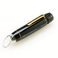 ペン型 マイクロスコープ ポケット スケール内蔵 25倍 正立像タイプ 東海産業 PEAK ピーク メモリ付き メジャリング 測量