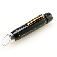 ペン型 マイクロスコープ ポケット 25倍 正立像タイプ 東海産業 PEAK ピーク 観察 検査 顕微鏡 マイクロスコープ