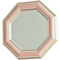 風水八角 シャルム 八角形 スタンド/ウォールミラー Sサイズ スタンド・壁掛け両用 PK ピンク 鏡 ミラー 風水ミラー 八角形 開運ミラー ウォールミラー 玄関
