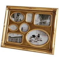 オペレッタ ヴィンテージ フォトフレーム スタンド&ウォール ファミリーLサイズ アンティークゴールド フォトフレーム 写真立て