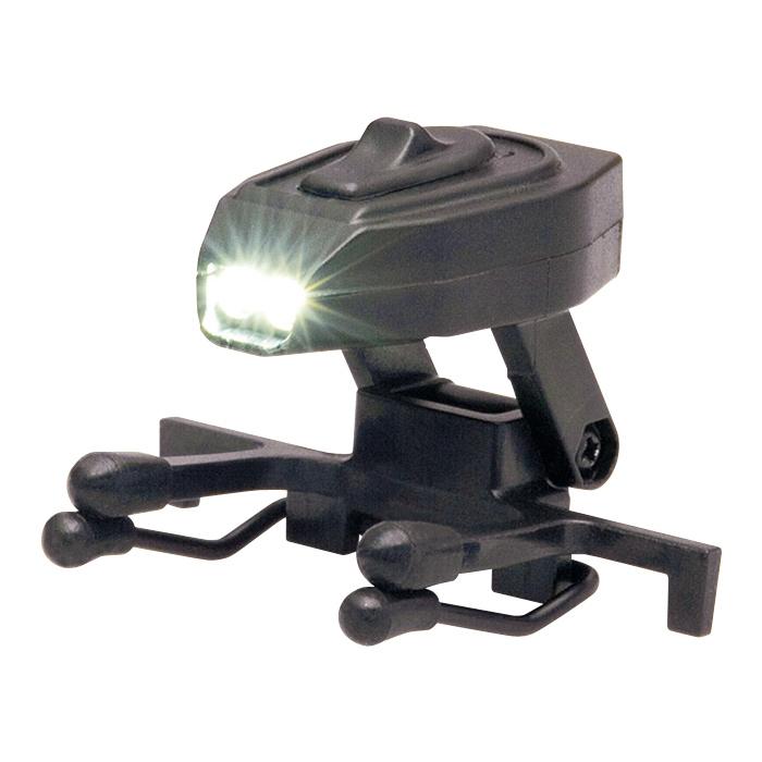 パンサービジョン LEDクリップライト2 LEDライト パトロール 防犯 防災 ライト 懐中電灯 夜釣り メガネ・帽子に取り付け可能