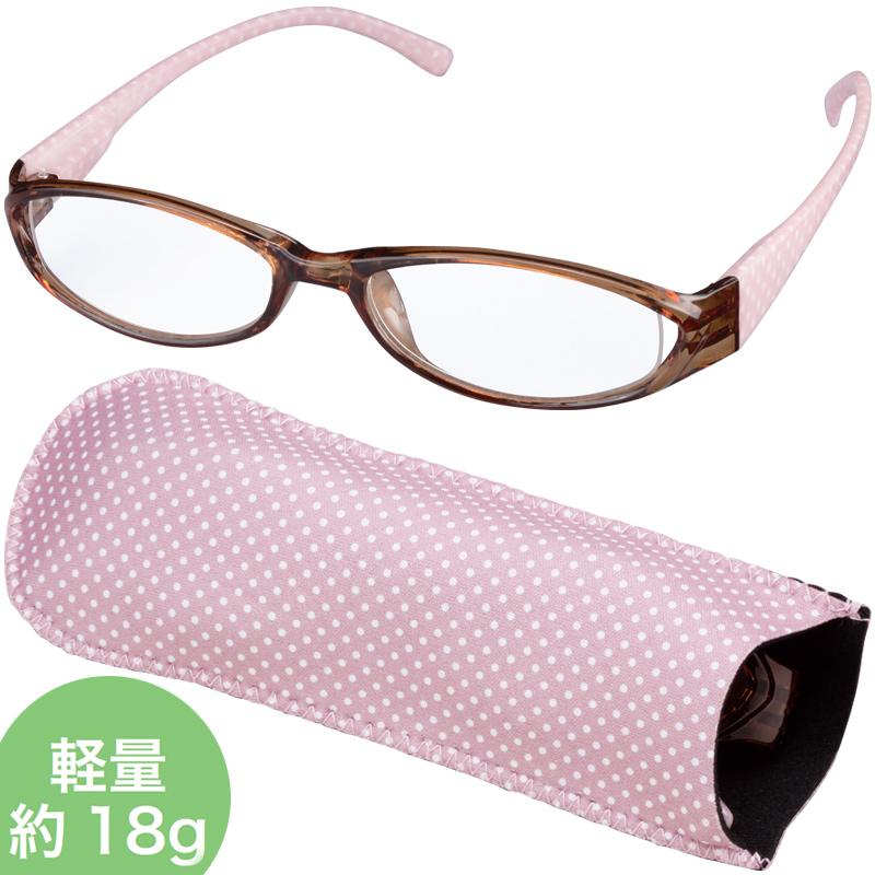老眼鏡 COSTADO [コスタード] LTシリーズ LT-P003 BR/PK 女性 おしゃれ シニアグラス レディース プレゼント