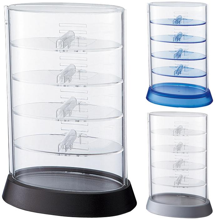 SHE-1 アイコレクタワー メガネケース メガネ 多数 収納 コレクション ディスプレイ