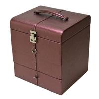 メイクアップボックス フェイミー コスメボックス 合成皮革製 メイクボックス 化粧箱 かわいい
