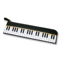 ペンケース ピアノ ムシカ 筆箱 筆入れ 革 レザー