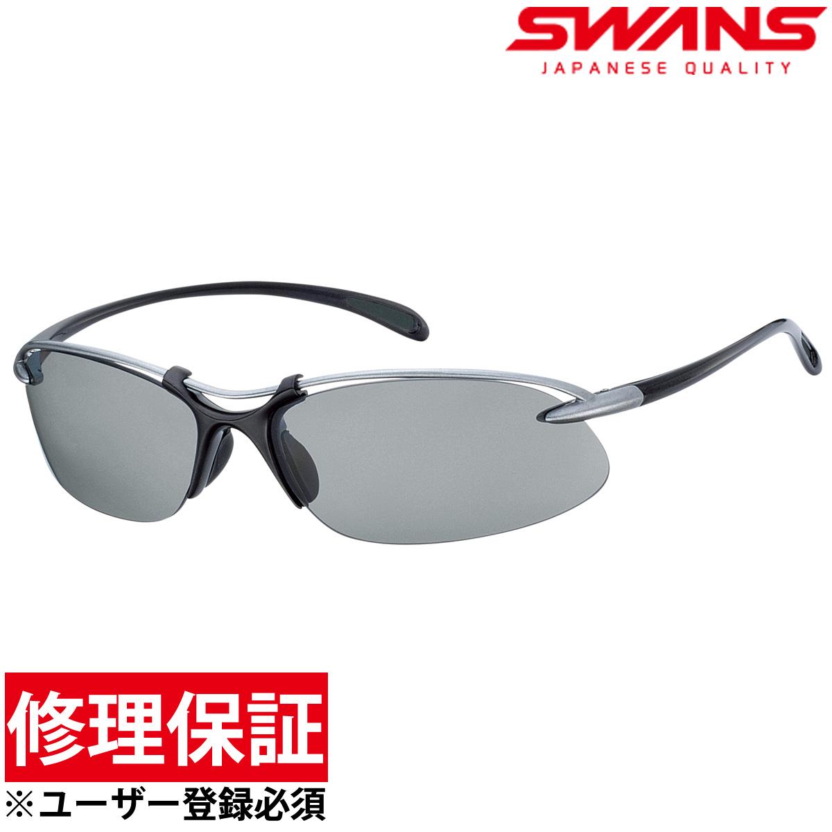 偏光サングラス エアレスウェイブ SA-501 スポーツサングラス ゴルフ UV カット SWANS スワンズ メンズ レディース SWANS スワンズ