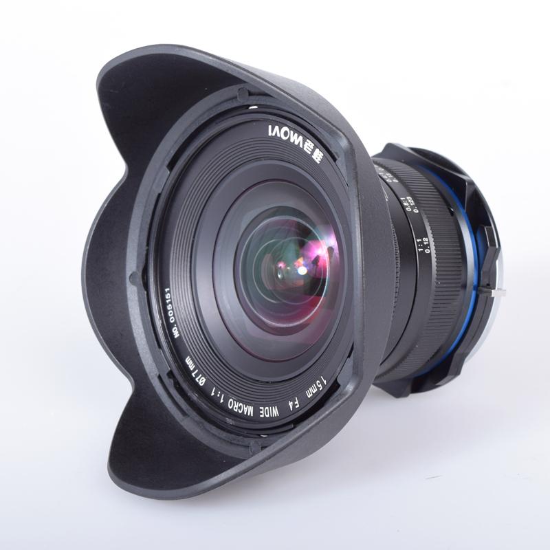 一眼レフ 交換レンズ マクロレンズ 15mm F4 1xワイド マクロ/SFT LAOWA カメラ 接写
