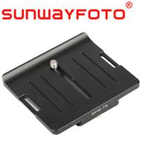 汎用クイックリリース・プレート Lensplate 70mm DPG-70 SF0058 SUNWAYFOTO サンウェイフォト アルカスイス対応