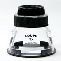 虫眼鏡 デスクルーペ SL-5 5倍 30mm